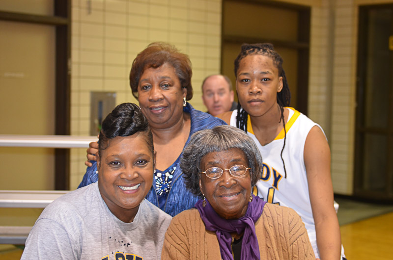 32nd Lady Pilots and Pilots Basketball Senior Night Photo