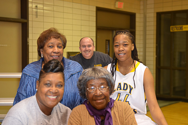 33rd Lady Pilots and Pilots Basketball Senior Night Photo