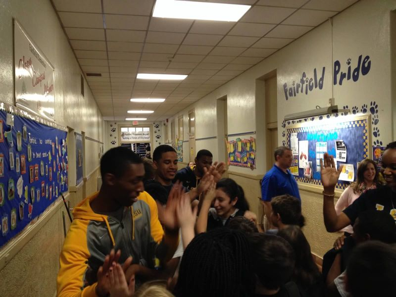 12th LSUS ATHLETES VISITS FAIRFIELD ELEMENTARY Photo
