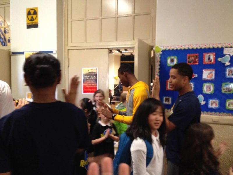 20th LSUS ATHLETES VISITS FAIRFIELD ELEMENTARY Photo