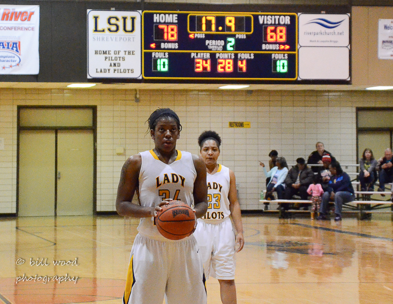 63rd LSUS Lady Pilots vs Our Lady of the Lake U. Photo