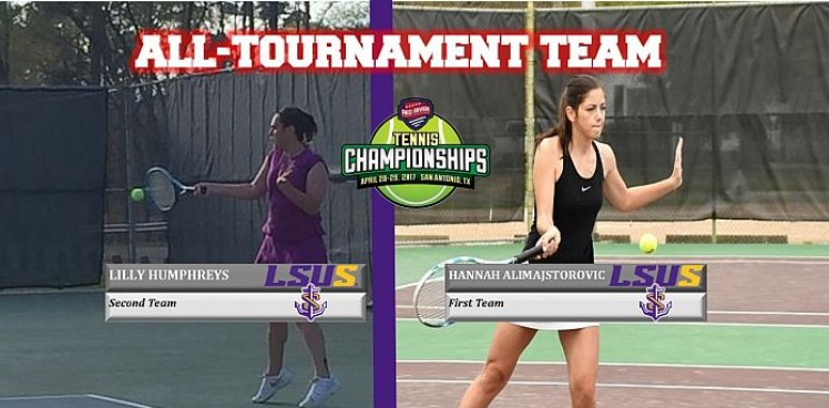 Photo for ALIMAJSTOROVIC, HUMPHREYS NAMED TO ALL-TOURNAMENT TEAM
