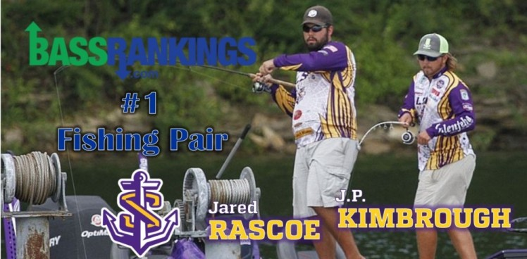 Photo for RASCOE AND KIMBROUGH NAMED NO. 1 FISHING PAIR