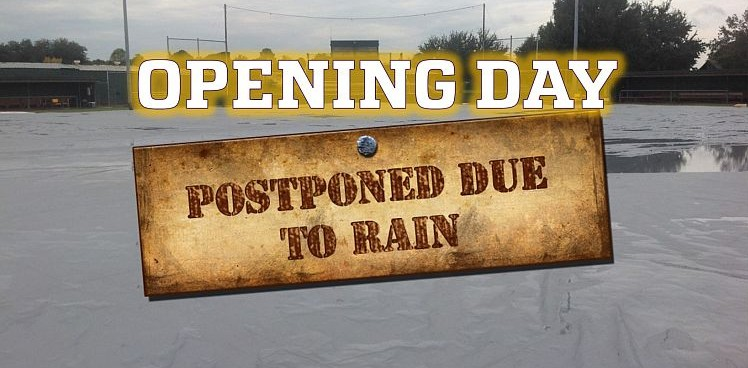 Photo for OPENING WEEKEND SERIES POSTPONED DUE TO RAIN