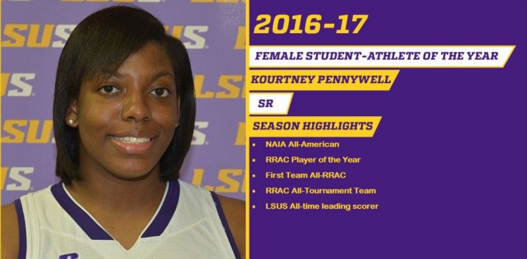 Photo for PENNYWELL NAMED FEMALE STUDENT ATHLETE OF THE YEAR