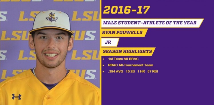 Photo for POUWELLS NAMED MALE STUDENT ATHLETE OF THE YEAR