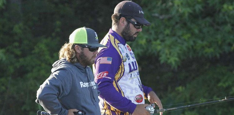 Photo for Day 2: LSU Shreveport slips to 3rd after slow start on Lay Lake