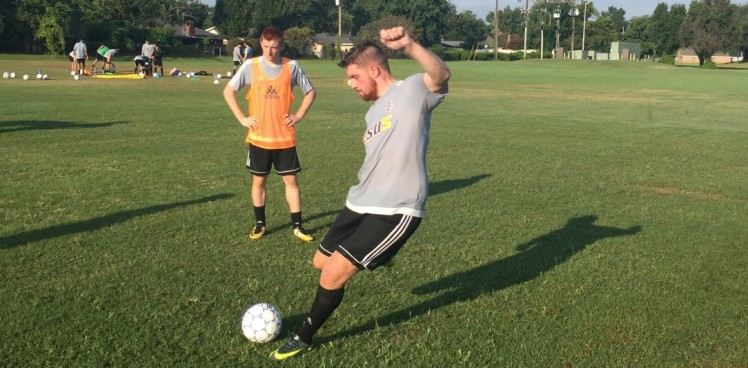Photo for Men's Soccer Is Back On The Campus of LSUS
